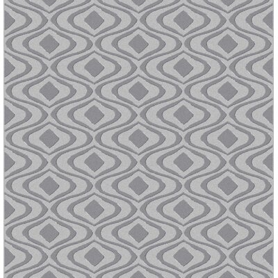 Fifer Gray Area Rug Rug Size: Rectangle 711 x 910