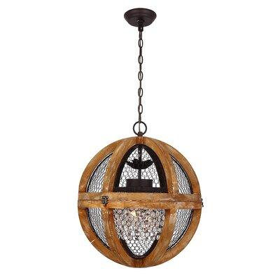 Lantana 3-Light Globe Pendant