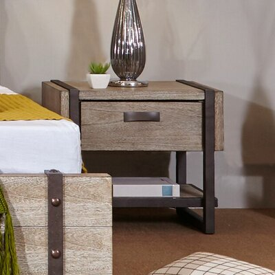 Dominey 1 Drawer Nightstand
