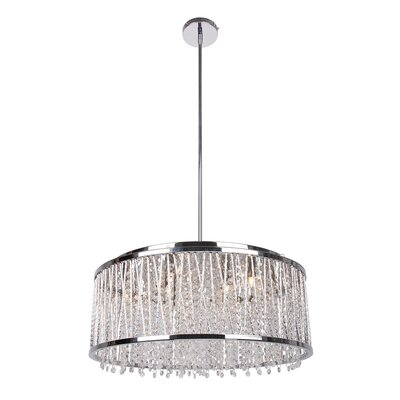 Brookdale 10-Light Crystal Pendant