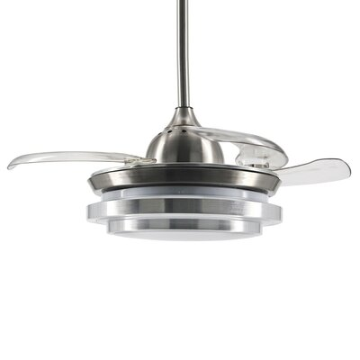 42.5 Buchman 4 Blade LED Ceiling Fan with Remote