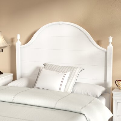 Marquardt Headboard Size: Twin, Color: Snow White