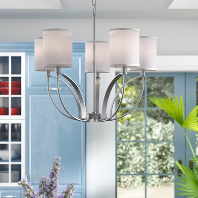 Belcourt 5-Light Shaded Chandelier