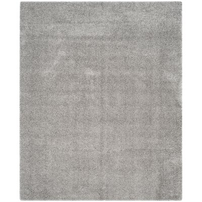 Mccall Silver Shag Area Rug Rug Size: Rectangle 8 x 10