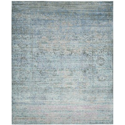 Shane Blue/Gray Area Rug Rug Size: Rectangle 8 x 10