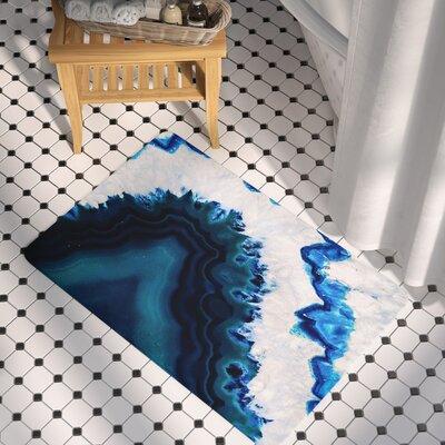 Geode Photography Memory Foam Bath Rug Size: 0.5 H x 17 W x 24 D