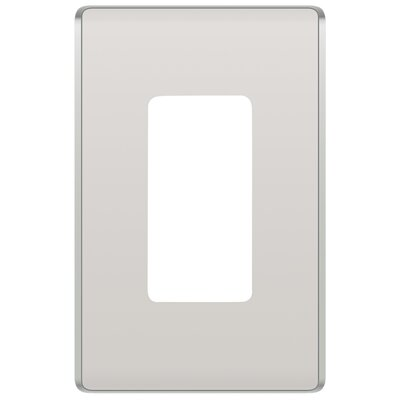 Studio 1 Gang Socket Plate Finish: Light Almond
