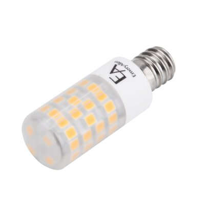 4.5W Frosted E12/Candelabra LED Light Bulb Bulb Temperature: 3000K