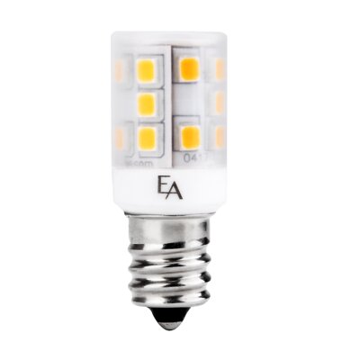2.5W Frosted E12/Candelabra LED Light Bulb Bulb Temperature: 3000K
