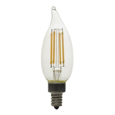 5.0W Frosted E12/Candelabra LED Light Bulb Bulb Temperature: 2700K