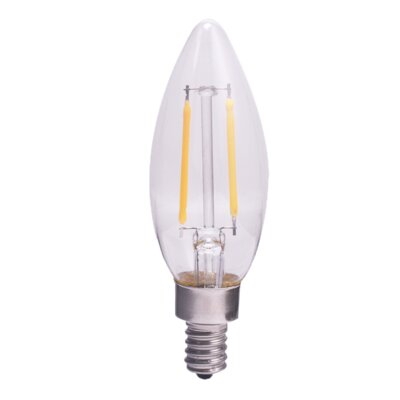 5.0W Frosted E12/Candelabra LED Light Bulb Bulb Temperature: 3000K