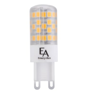 4.5W Frosted G9/Bi-pin LED Light Bulb Bulb Temperature: 3000K