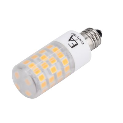 4.5W Frosted E11/Mini Candelabra LED Light Bulb Bulb Temperature: 2700K