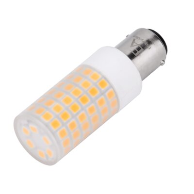 5W Frosted BA15d/Bayonet LED Light Bulb Bulb Temperature: 3000K