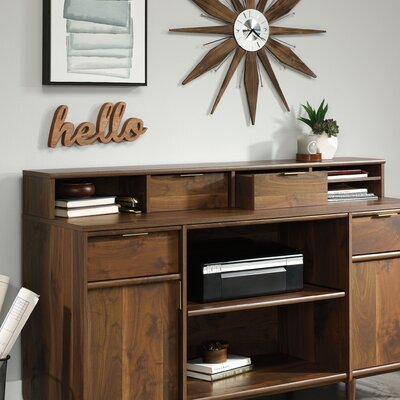 West Town Organizer 6.06 H x 59 W Desk Hutch