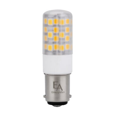 4.5W Frosted BA15d/Bayonet LED Light Bulb Bulb Temperature: 3000K