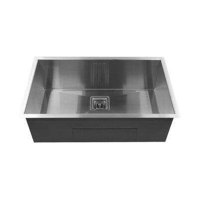 Single Bowl 30 x 10 Undermount Kitchen Sink
