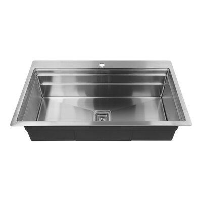 36 x 10 Drop-In Kitchen Sink