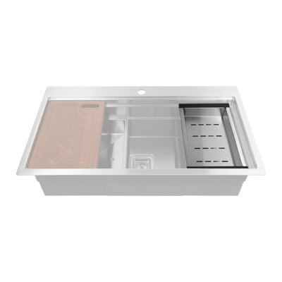 Mid-Deep Sink Stainless Steel Colander
