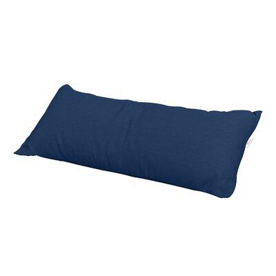 Ellerman Sunbrella Outdoor Lumbar Pillow Color: Navy