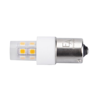 2W Frosted BA15d/Bayonet LED Light Bulb Bulb Temperature: 3000K