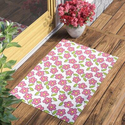 Gladiola Planting Indoor/Outdoor Doormat Mat Size: 2 x 3