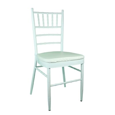Bevilacqua Dining Chair Color: Light Silver