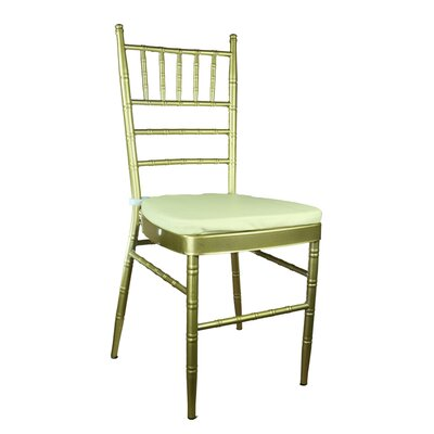 Bevilacqua Dining Chair Color: Gold