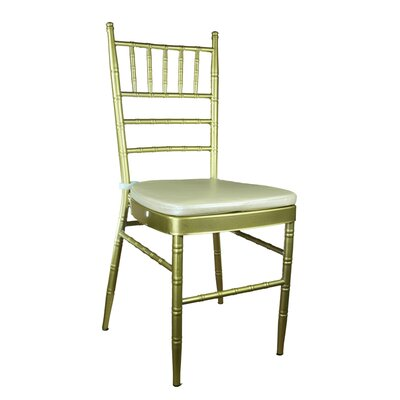 Bevilacqua Dining Chair Color: Champagne