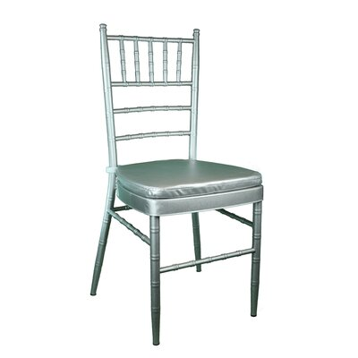 Bevilacqua Dining Chair Color: Dark Silver
