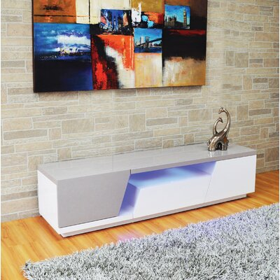 Deming 71 TV Stand with LED Light