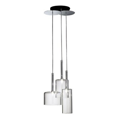 Bucher 3-Light Cluster Pendant