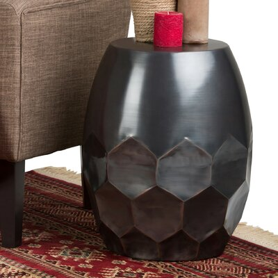 Flanigan Metal End Table