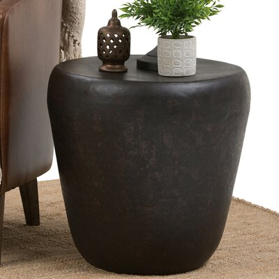 Garvy Metal End Table