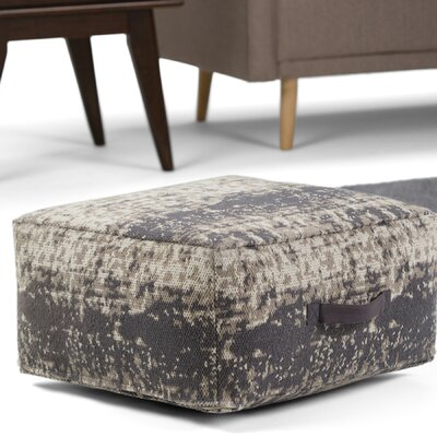 Tilley Pouf Upholstery: Taupe/Gray