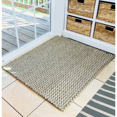 Lamberton Wool Natural/Brown Area Rug