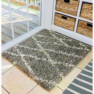Piscium Cotton/Wool Dirty Gray Area Rug