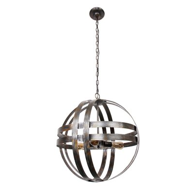 Altha 3-Light Globe Pendant