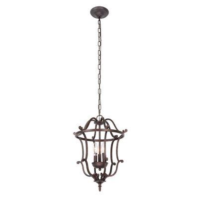 Desdemona 3-Light Foyer Pendant