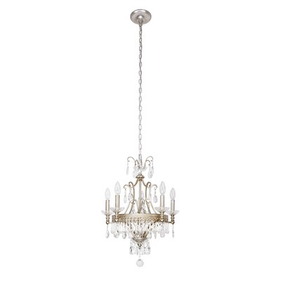 Brookhill 5-Light Candle-Style Chandelier