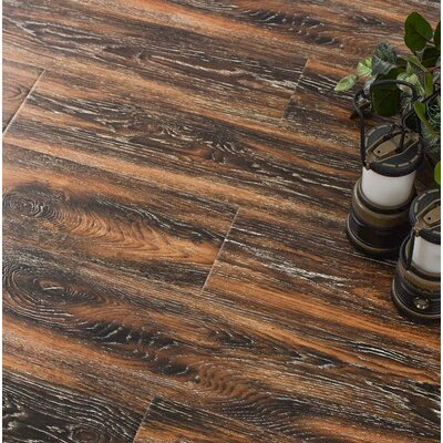 Archard 7 x 48 x 12mm Oak Laminate Flooring in Hazelnut