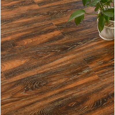 Archard 7 x 48 x 12mm Oak Laminate Flooring in Hickory