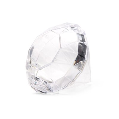 Clear Acrylic Diamond Party Favour (Set of 6) 4599