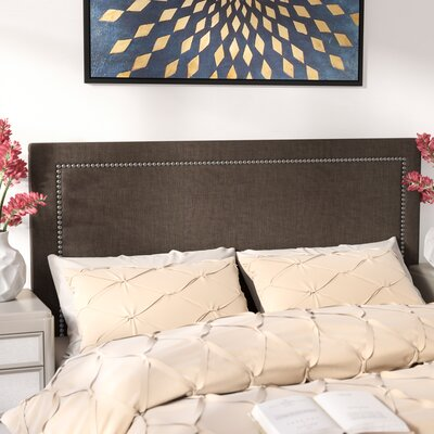 Makayla Upholstered Panel Headboard Size: Queen