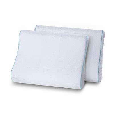 Althoff Dual Sided Contour Memory Foam Standard Pillow