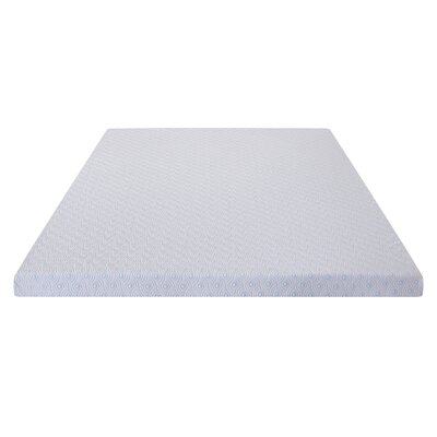 Alter 2 I-Gel Memory Foam Mattress Topper Bed Size: Full/Double