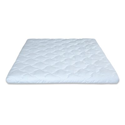 Premium I 3 Gel Memory Foam Mattress Topper Size: King