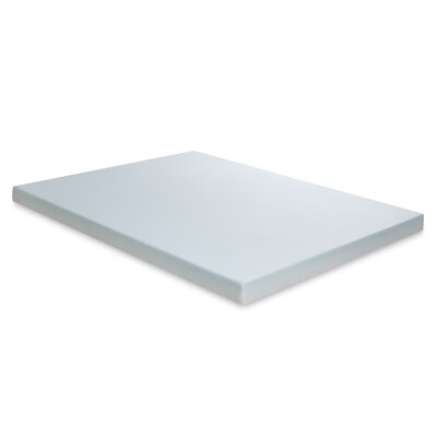 Alongi 4 Memory Foam Mattress Topper Bed Size: Twin