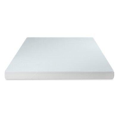 Premium 4 Memory Foam Mattress Topper Size: King
