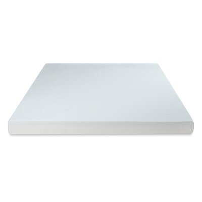 Premium 4 Memory Foam Mattress Topper Size: Twin
